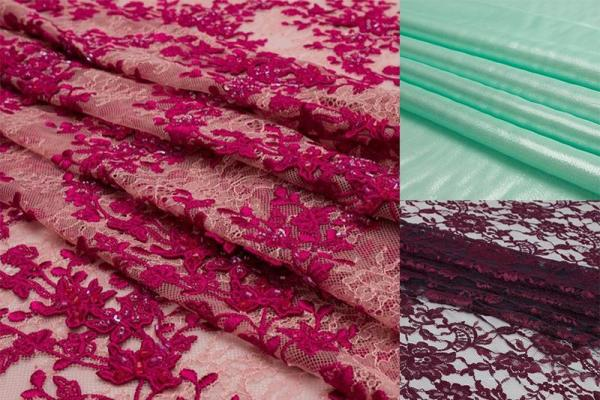 Trends 2021: Shimmer and Lace Fabrics