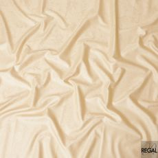 Sepia beige cotton satin fabric with same tone jacquard in floral design-D7260