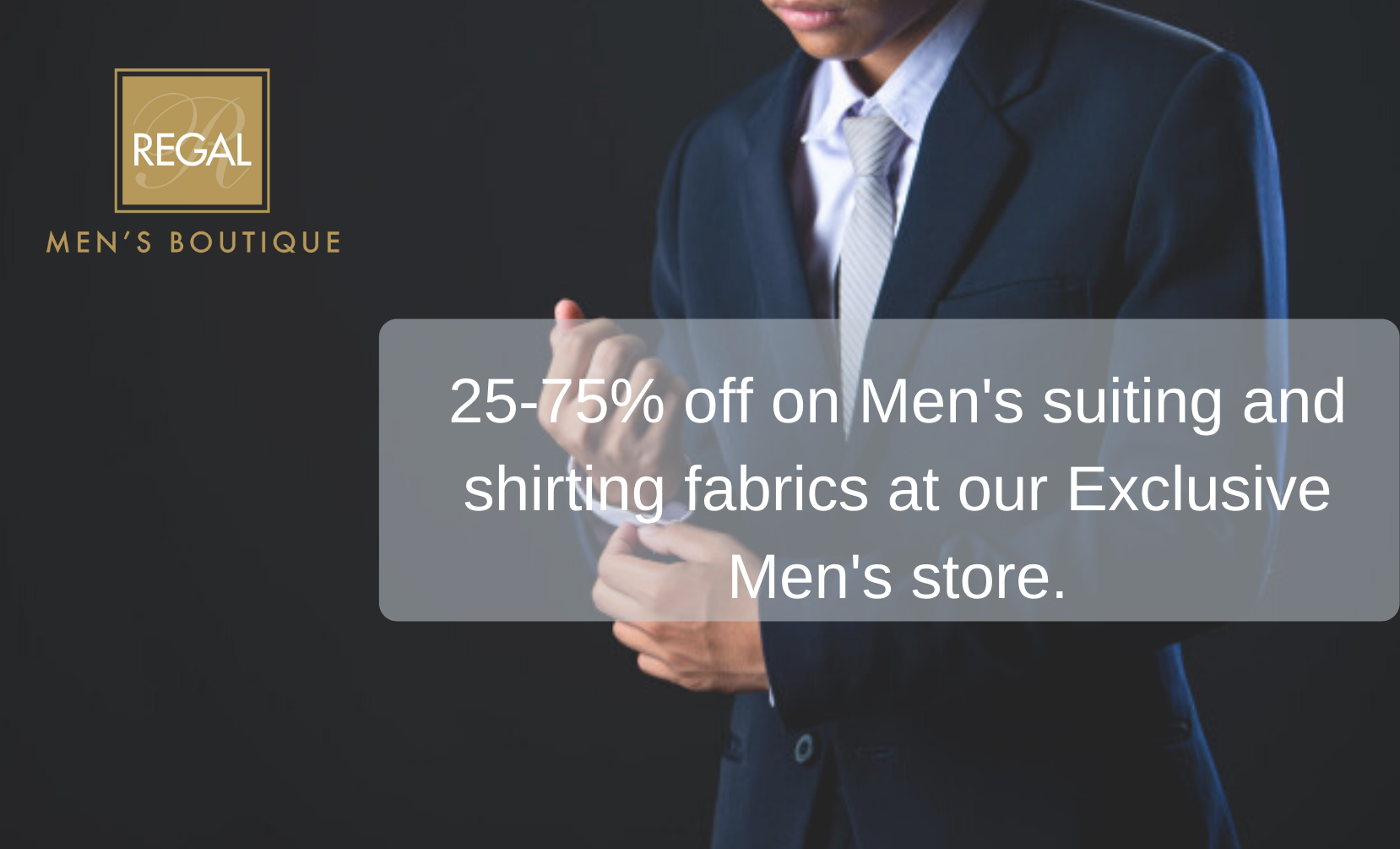 Special Offers at Men's Store